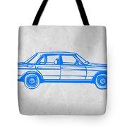 Old Mercedes Benz Tote Bag by Naxart Studio