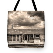 Old Rio Grande Train Stop Tote Bag by James BO  Insogna