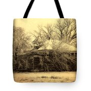 Old School House Tote Bag by Julie Hamilton
