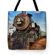 Old Train Tote Bag by Garry Gay