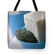 Olive Oil Soaps Tote Bag by Frank Tschakert