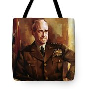 Omar Bradley Tote Bag by War Is Hell Store