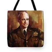 Omar Bradley Tote Bag by War Is Hell Store