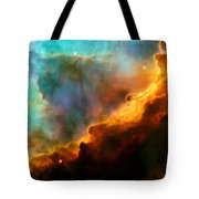 Omega Swan Nebula 3 Tote Bag by Jennifer Rondinelli Reilly - Fine Art Photography