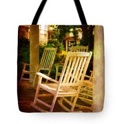 On A Sunday Afternoon Tote Bag by Susanne Van Hulst