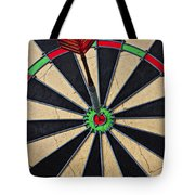 On Target Bullseye Tote Bag by Garry Gay