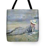 On The Beach  Tote Bag by Paul Cesar Helleu