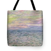 On The High Seas Tote Bag by Claude Monet