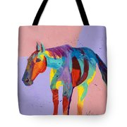 On The Lonely Trail Tote Bag by Tracy Miller