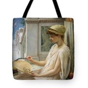 On the Terrace Tote Bag by Sir Edward John Poynter