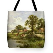 On the Thames near Marlow Tote Bag by On the Thames near Marlow