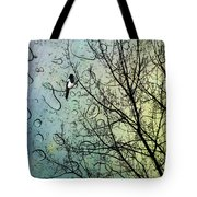 One For Sorrow Tote Bag by John Edwards
