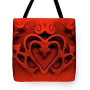One Love Tote Bag by Jane Alexander