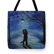 One Love One Lifetime Tote Bag by Leslie Allen