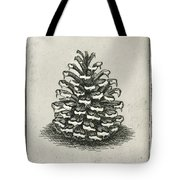 One Pinecone Tote Bag by Charles Harden