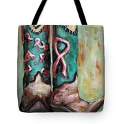 One Size Fits All Tote Bag by Frances Marino