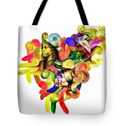 One United Tote Bag by Mo T