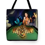 ONTHEPROWL Tote Bag by Draw Shots