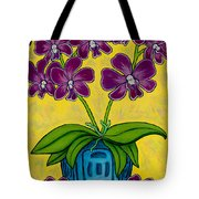 Orchid Delight Tote Bag by Lisa  Lorenz