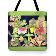 Orchids  Tote Bag by Lucy Arnold