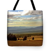 Oregon - Land of the setting sun Tote Bag by Christine Till