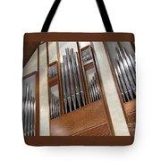 Organ Pipes Tote Bag by Ann Horn