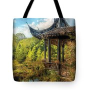 Orient - From A Chinese Fairytale Tote Bag by Mike Savad