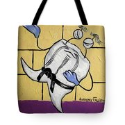Oriental Tooth Tote Bag by Anthony Falbo