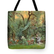 Our Little Garden Tote Bag by Guido Borelli