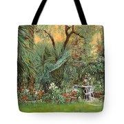 Our Little Garden Tote Bag by Guido Borelli