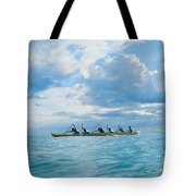 Outrigger Canoe Tote Bag by Bob Abraham - Printscapes