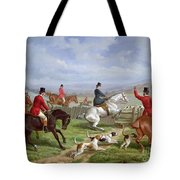 Over The Fence Tote Bag by Edward Benjamin Herberte