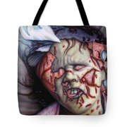 Pain Tote Bag by James W Johnson
