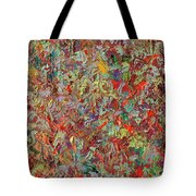 Paint Number 33 Tote Bag by James W Johnson