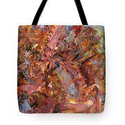 Paint number 43b Tote Bag by James W Johnson