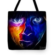 Paint Runs In My Blood Tote Bag by Pamela Johnson