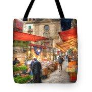 Palermo Market Place Tote Bag by Juli Scalzi
