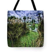 Palm Desert Sky Tote Bag by Blake Richards