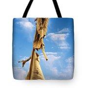 Paperbark Tree Tote Bag by Christine Till