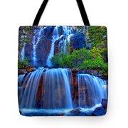 Paradise Falls Tote Bag by Scott Mahon