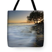PAradise Gold Tote Bag by Mike  Dawson