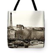 Paris Days Tote Bag by John Rizzuto