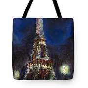Paris Tour Eiffel Tote Bag by Yuriy  Shevchuk