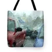 Parking Lot Tote Bag by Mike McGlothlen