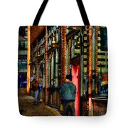 Passing Time Tote Bag by David Patterson