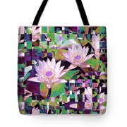 Patchwork Quilt Tote Bag by Karen Lewis