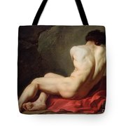 Patrocles Tote Bag by Jacques Louis David