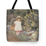 Pause for Reflection Tote Bag by Helen Allingham