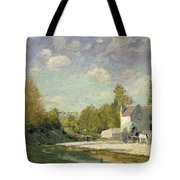 Paysage Tote Bag by Alfred Sisley