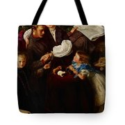 Peace Concluded Tote Bag by Sir John Everett Millais